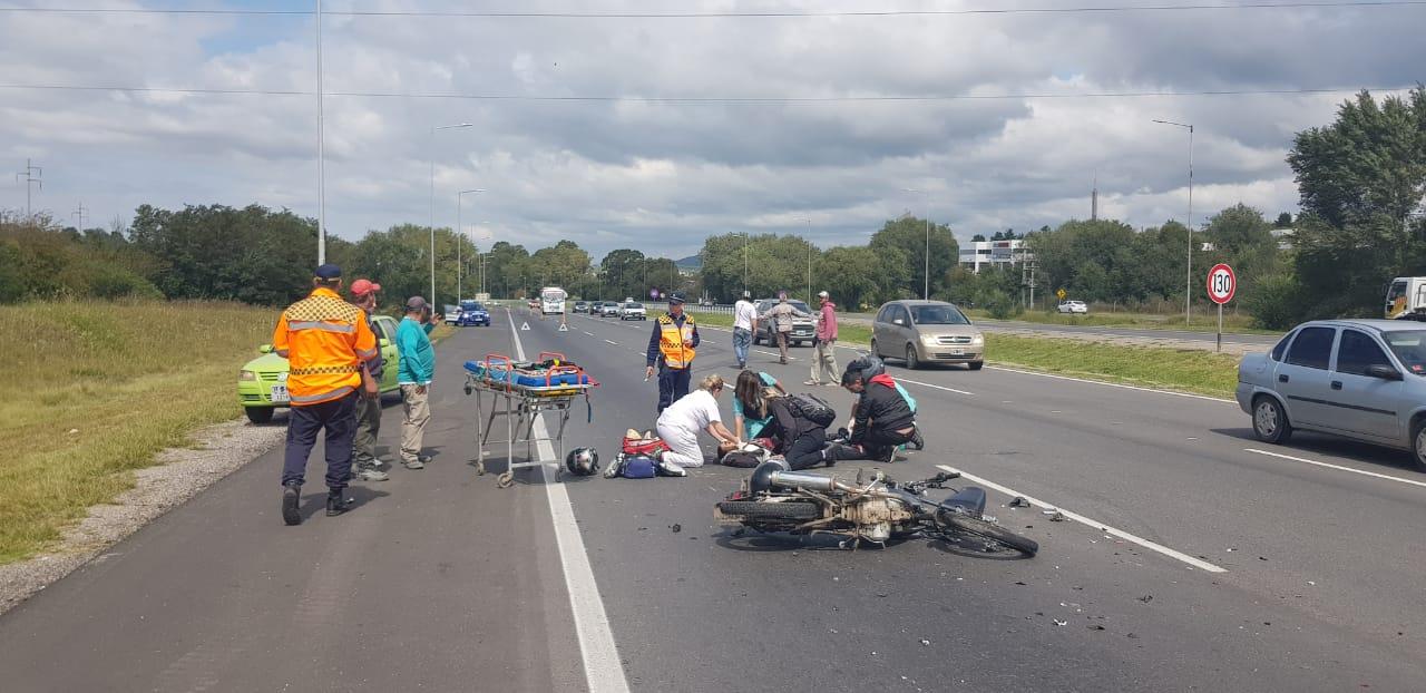 Afirman que casi la mitad de muertes en accidentes de tránsito ocurren en moto