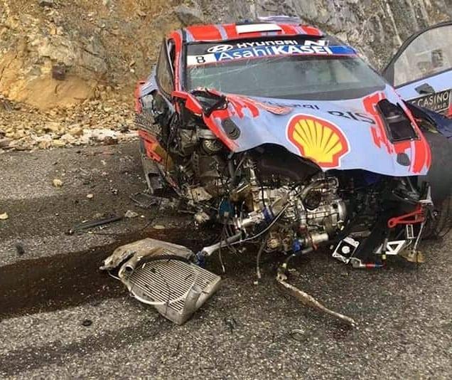 Impresionante VIDEO: así fue el accidente de Ott Tanak en el WRC de Montecarlo