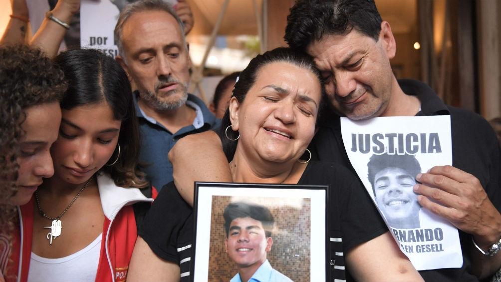 """Crimen en Gesell: """"Fernando me da fuerzas para luchar por él"""""""