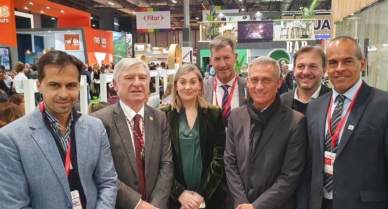 Boldrini en España: hemos trabajado de manera muy positiva en FITUR