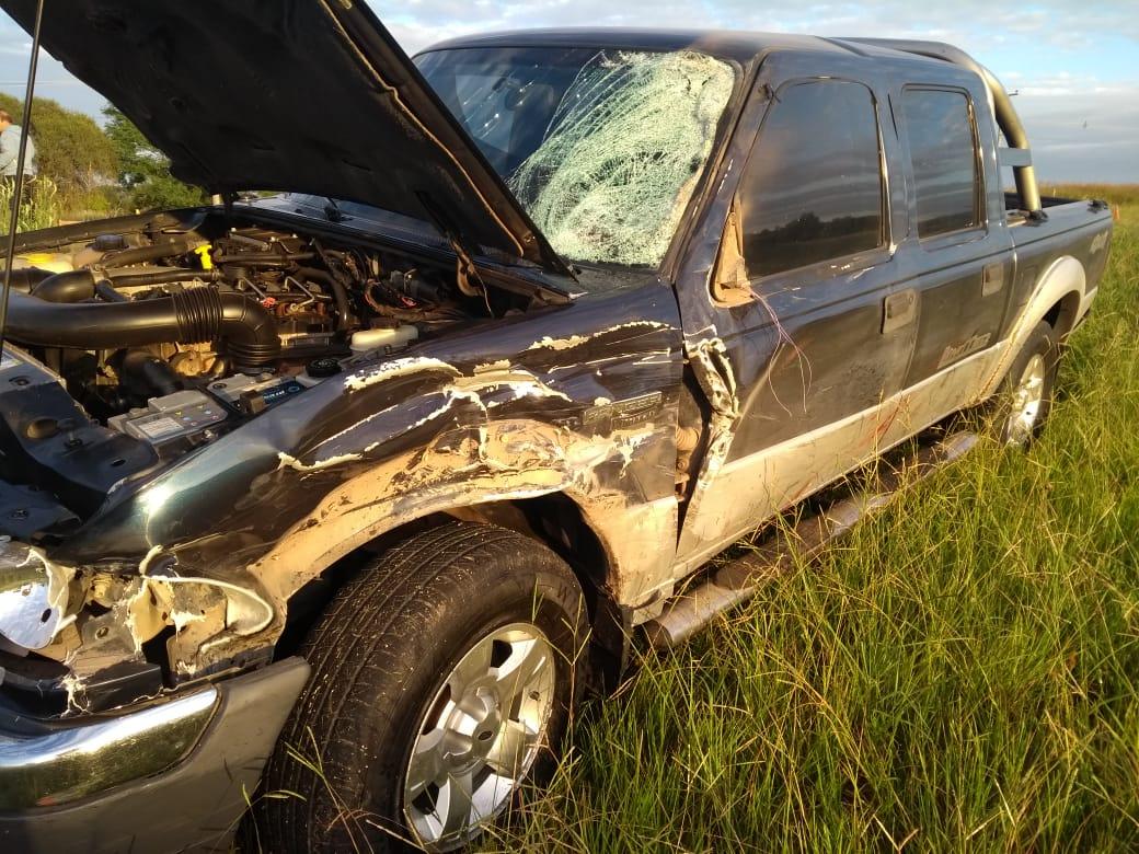 Un motociclista falleció tras chocas con una camioneta en la ruta a Alta Gracia