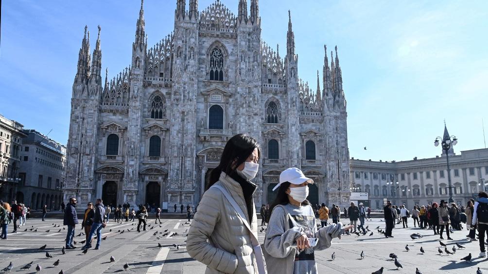 Coronavirus en Italia: nuevos casos elevan los contagios a 288