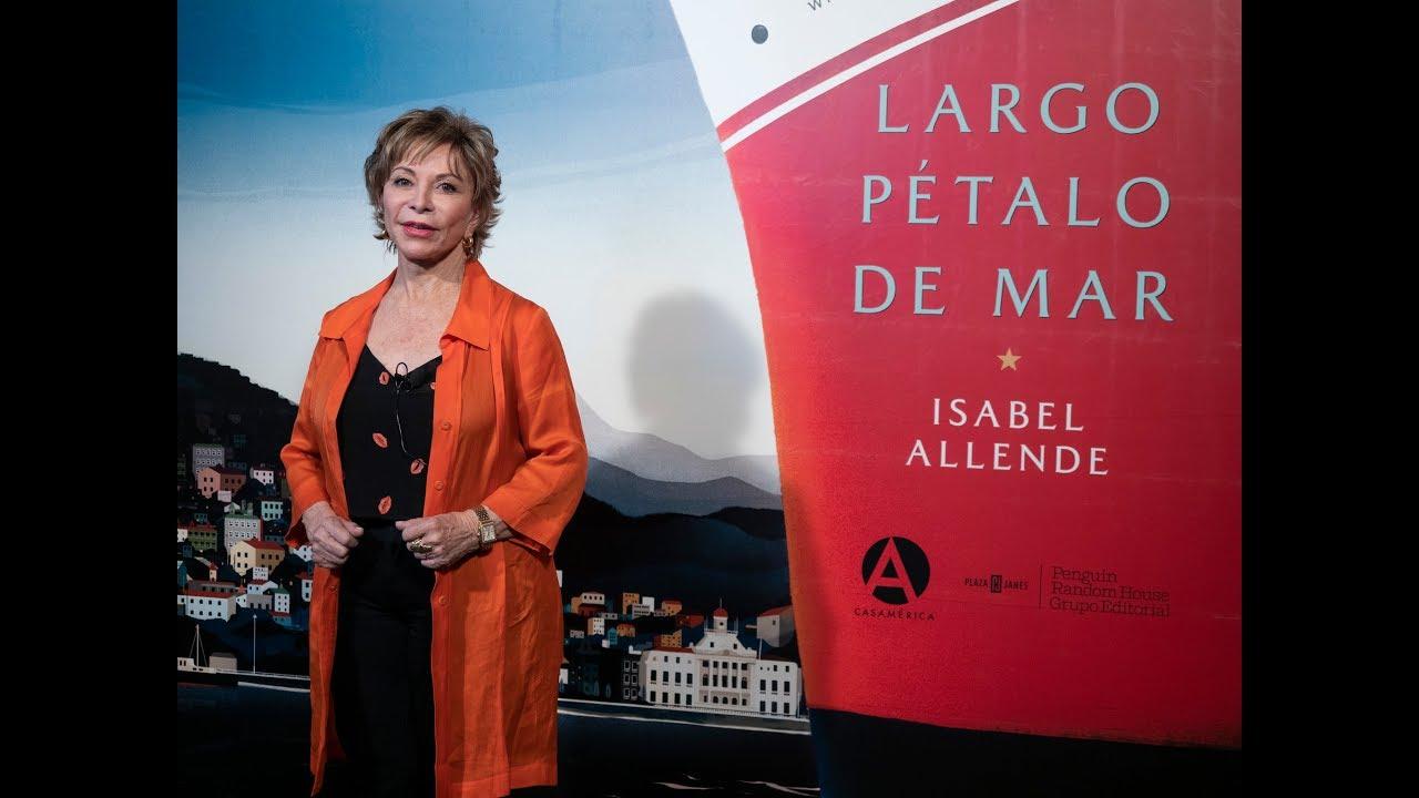 """¿Por qué leer """"Largo Pétalo de Mar"""" de Isabel Allende?"""