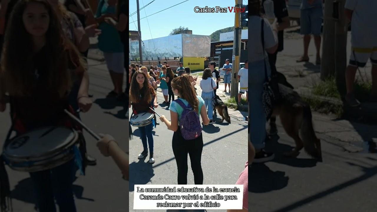 Carande Carro: Por falta de garantías ante el comienzo de clases, volvieron a cortar la Cárcano