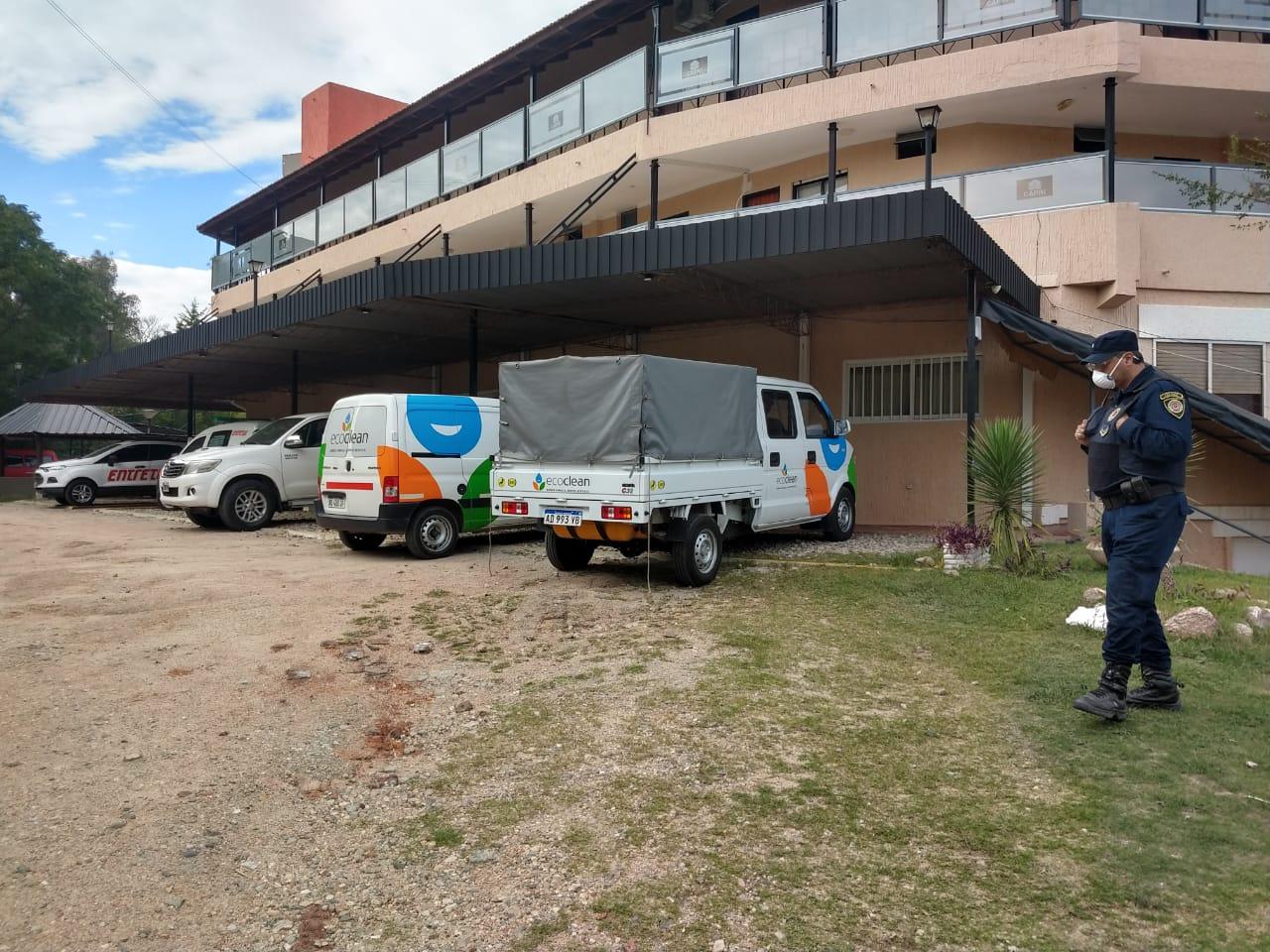 El Ministerio de Salud alojó en Carlos Paz a turistas provenientes de Brasil