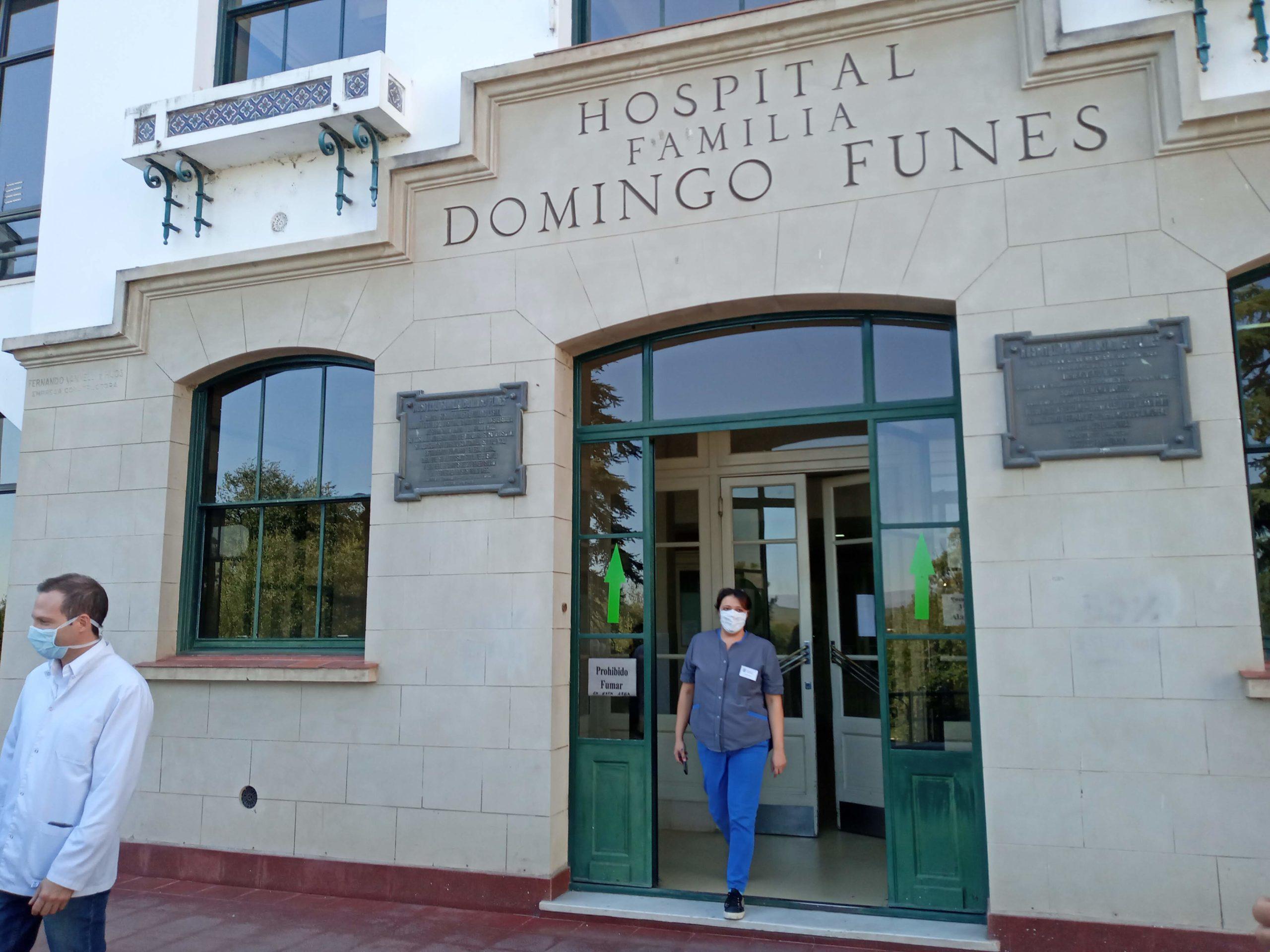 El gremio asegura que el Domingo Funes también está saturado de pacientes Covid