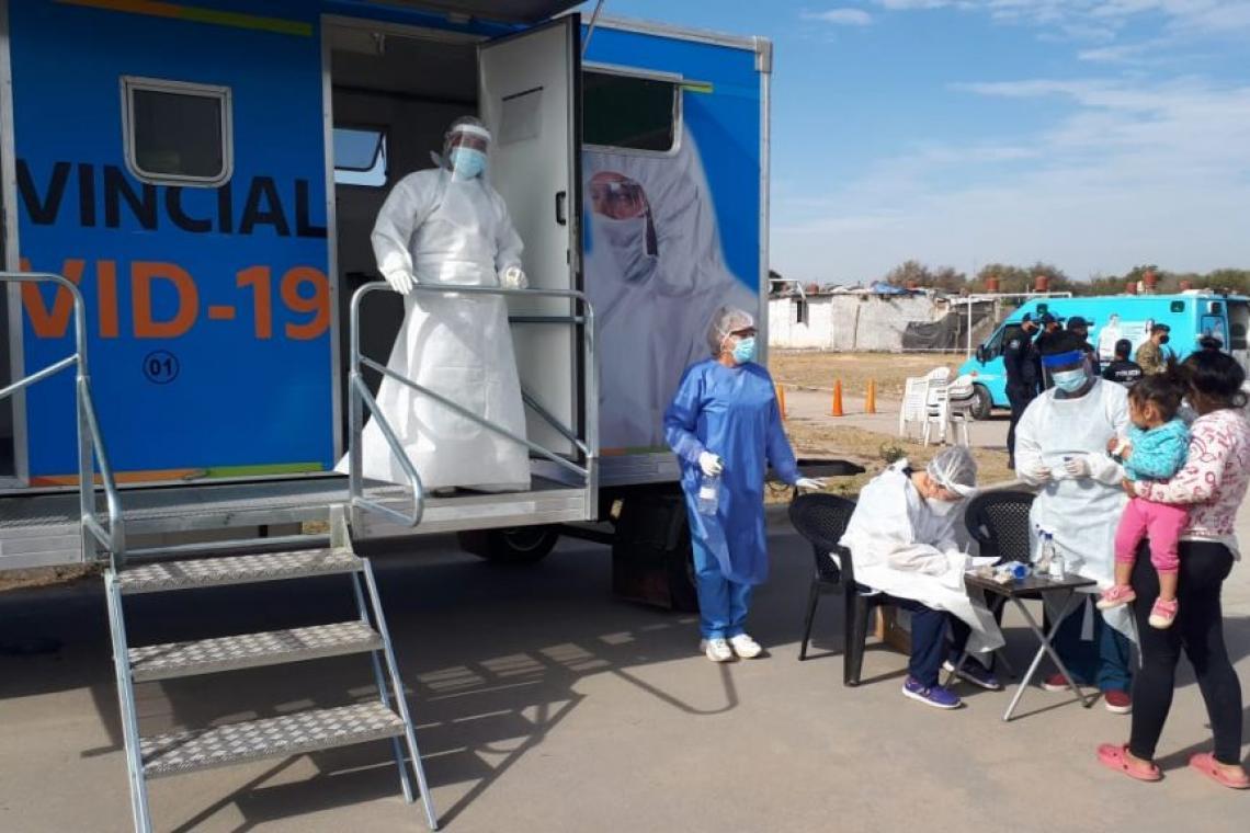 Coronavirus: El 95% de los casos positivos tiene nexo epidemiológico