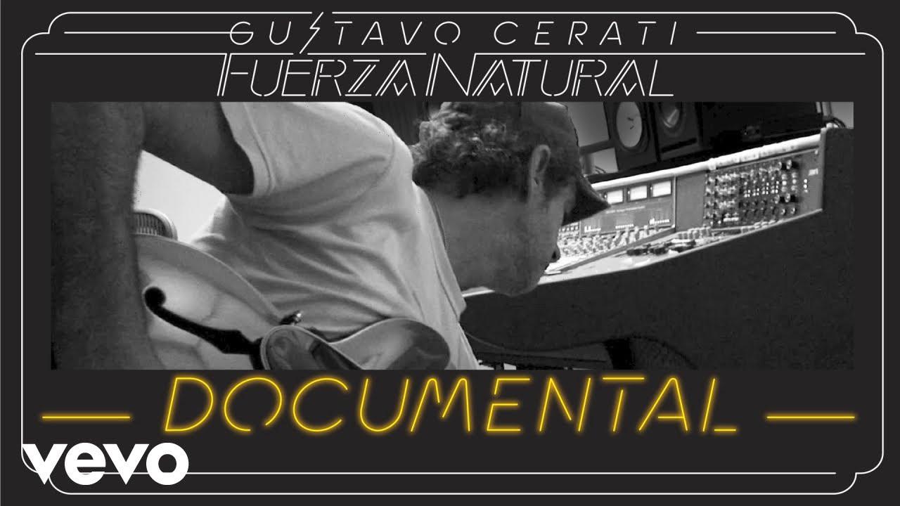 """El documental """"Fuerza Natural"""", de Gustavo Cerati, puede verse vía streaming"""
