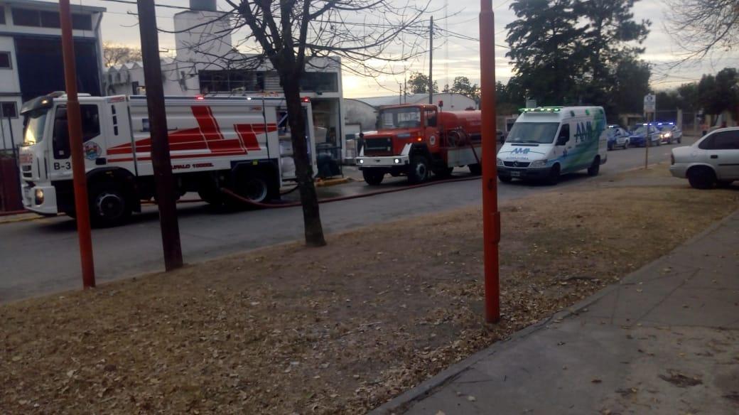 Carlos Paz: Se incendió una vivienda frente al cementerio