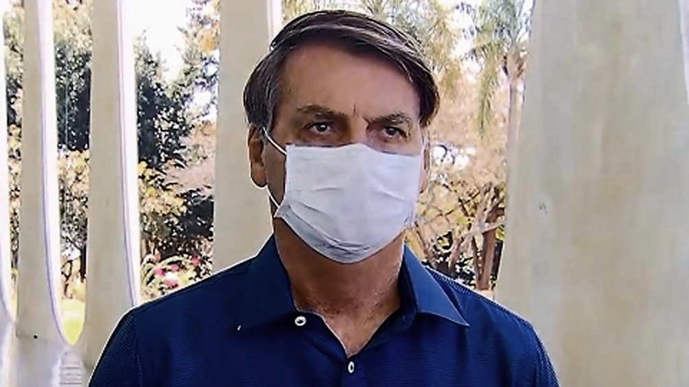 Brasil: El presidente Bolsonaro tiene coronavirus