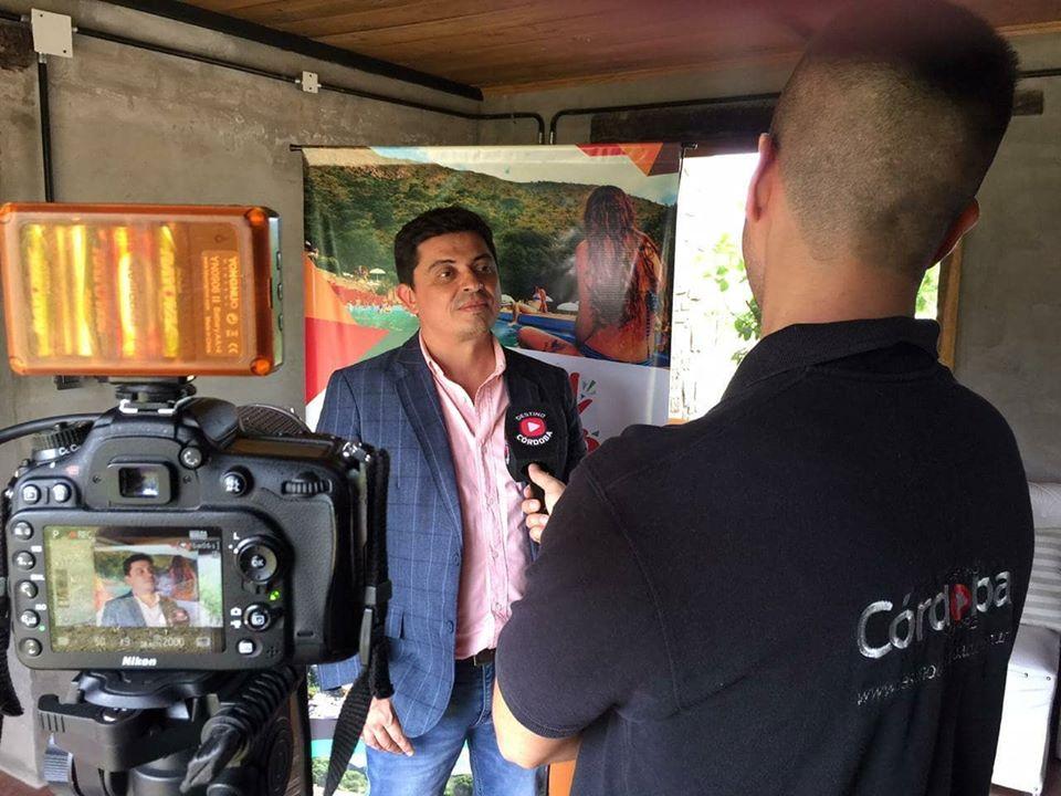 Fabricio Díaz: El municipio de Capilla del Monte es inviable sin una fuerte asistencia