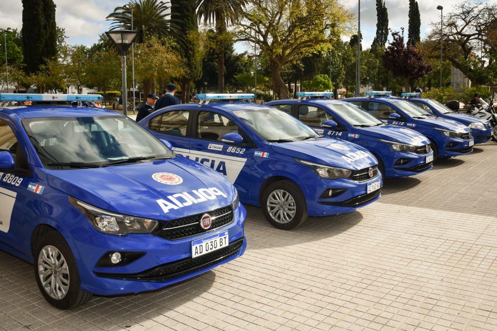 La Provincia realizó aportes para móviles y edificios policiales de Traslasierra