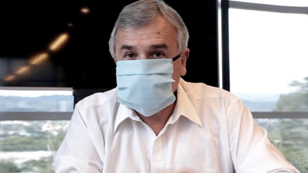 Jujuy: El gobernador Gerardo Morales confirmó que le diagnosticaron coronavirus