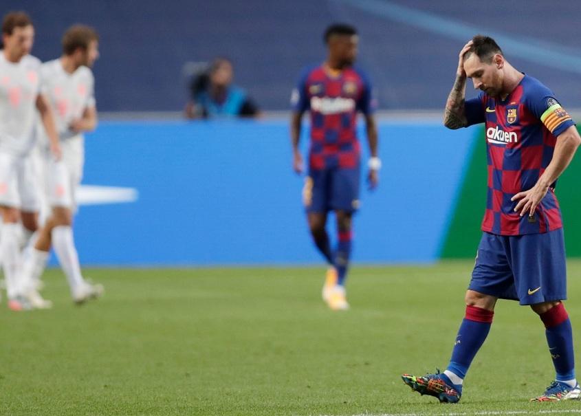 Paliza histórica: Bayern Munich liquidó a Barcelona 8 a 2