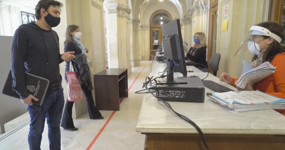 Salud hará testeos de vigilancia epidemiológica en el Palacio de Justicia I