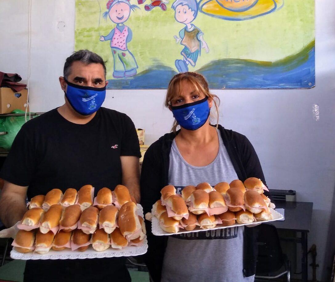 """Panza Caliente: """"En pandemia asistimos a 150 familias, el doble que antes"""""""