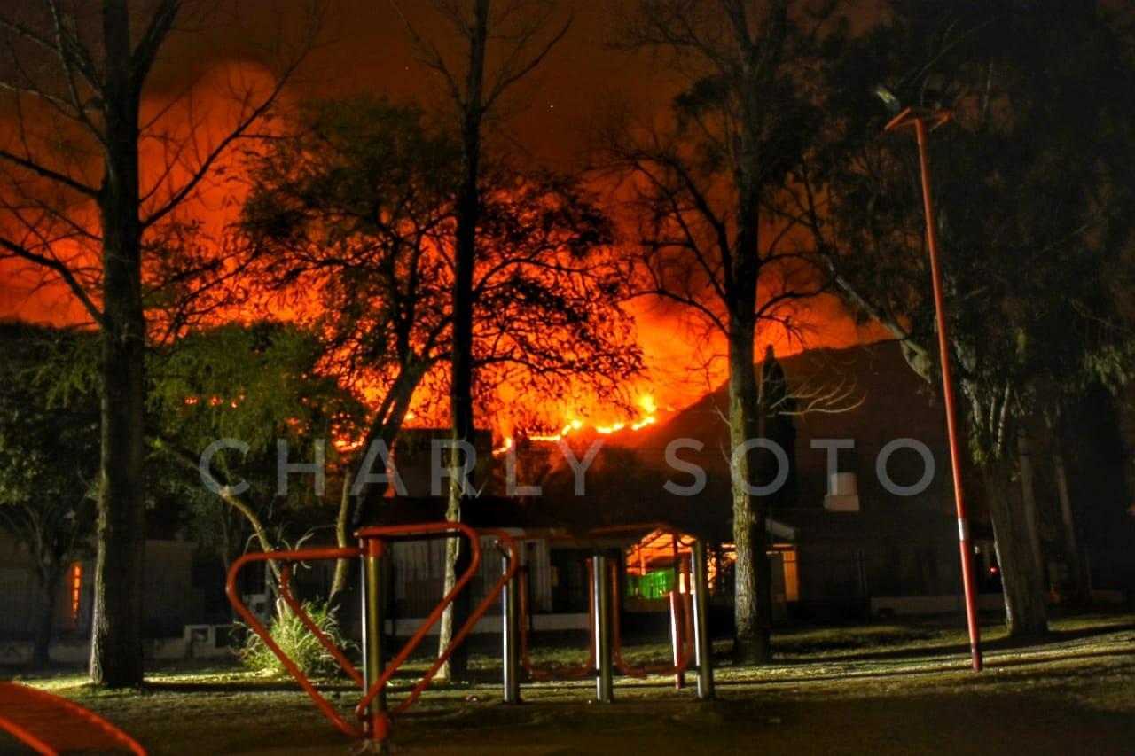 Incendio en Sol y Río: la hipótesis sobre el inicio del fuego