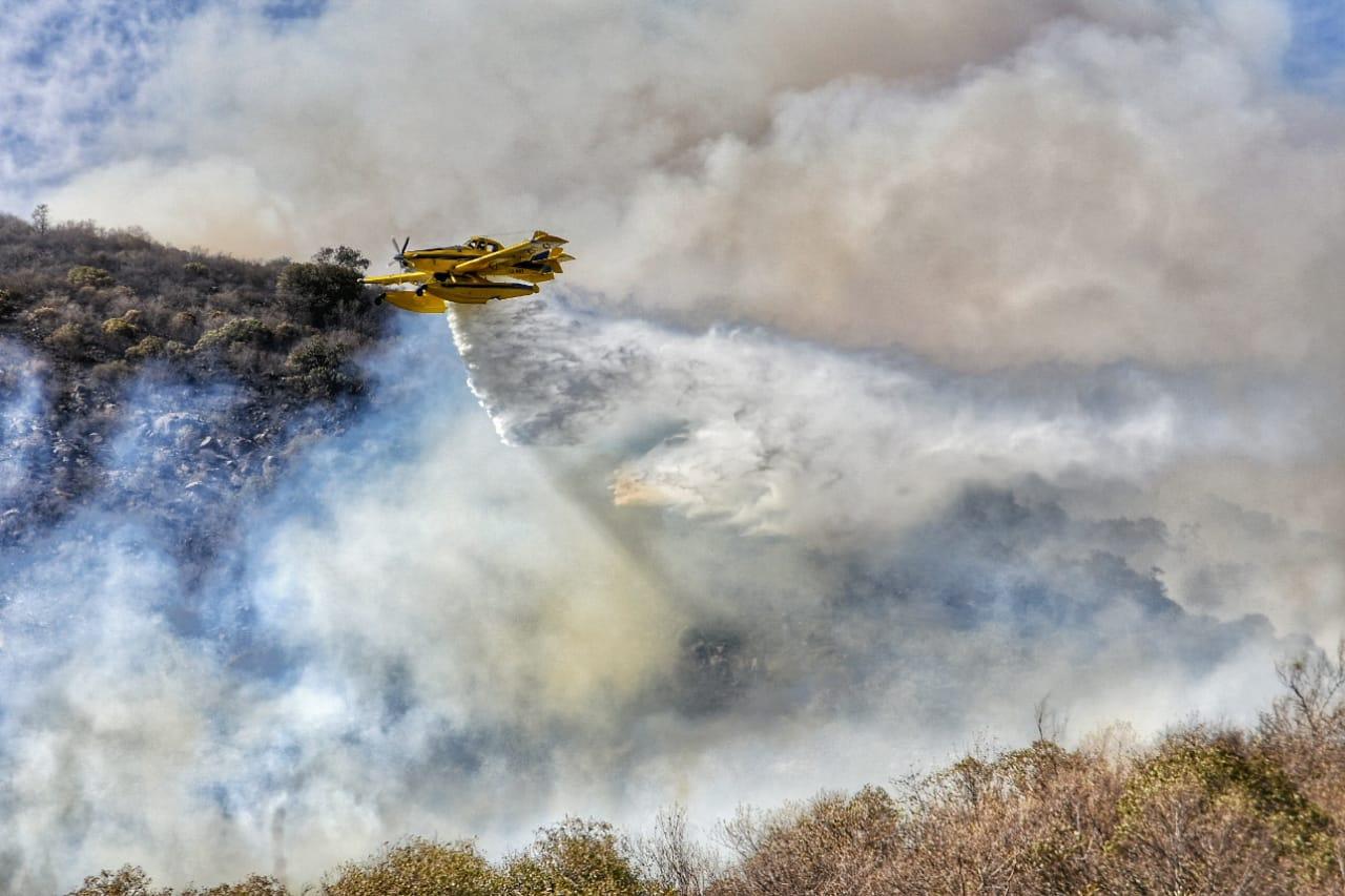El fuego no se detiene en Punilla, Traslasierra y Santa María