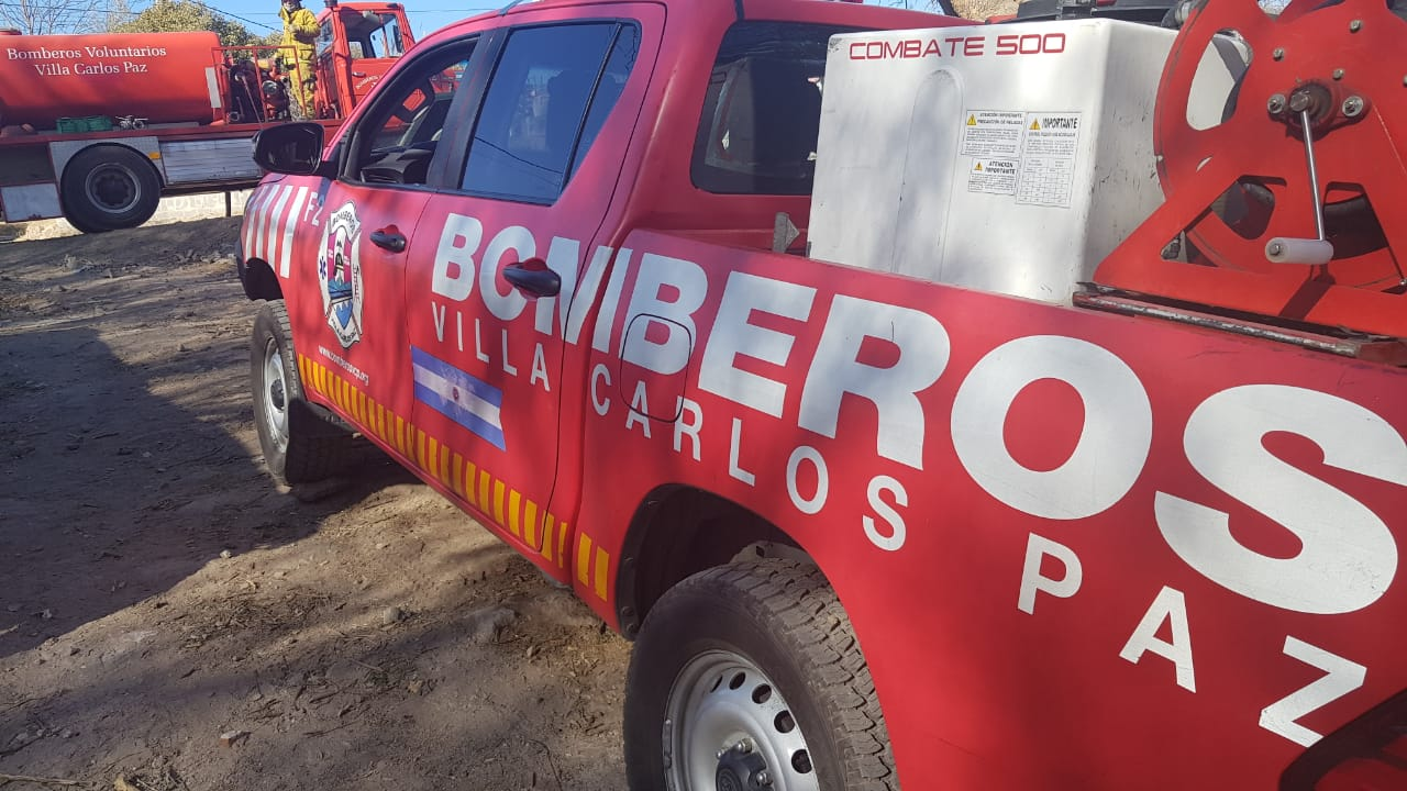 Piden que se les exima del pago de tasas a bomberos de Carlos Paz