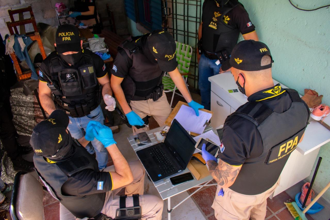 Cae banda narco: 9 allanamientos y 13 detenidos