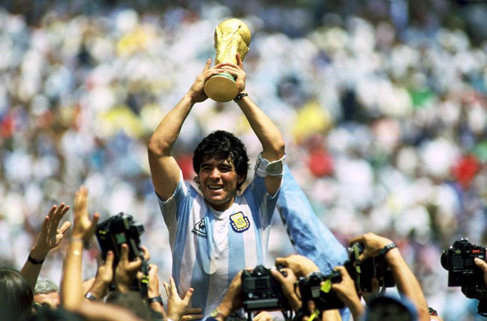 """El mundo despide al """"D10S"""", Diego Maradona"""