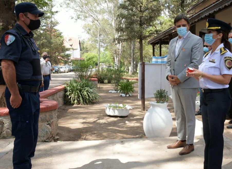 Quedó inaugurada una nueva sede policial en Santa María de Punilla