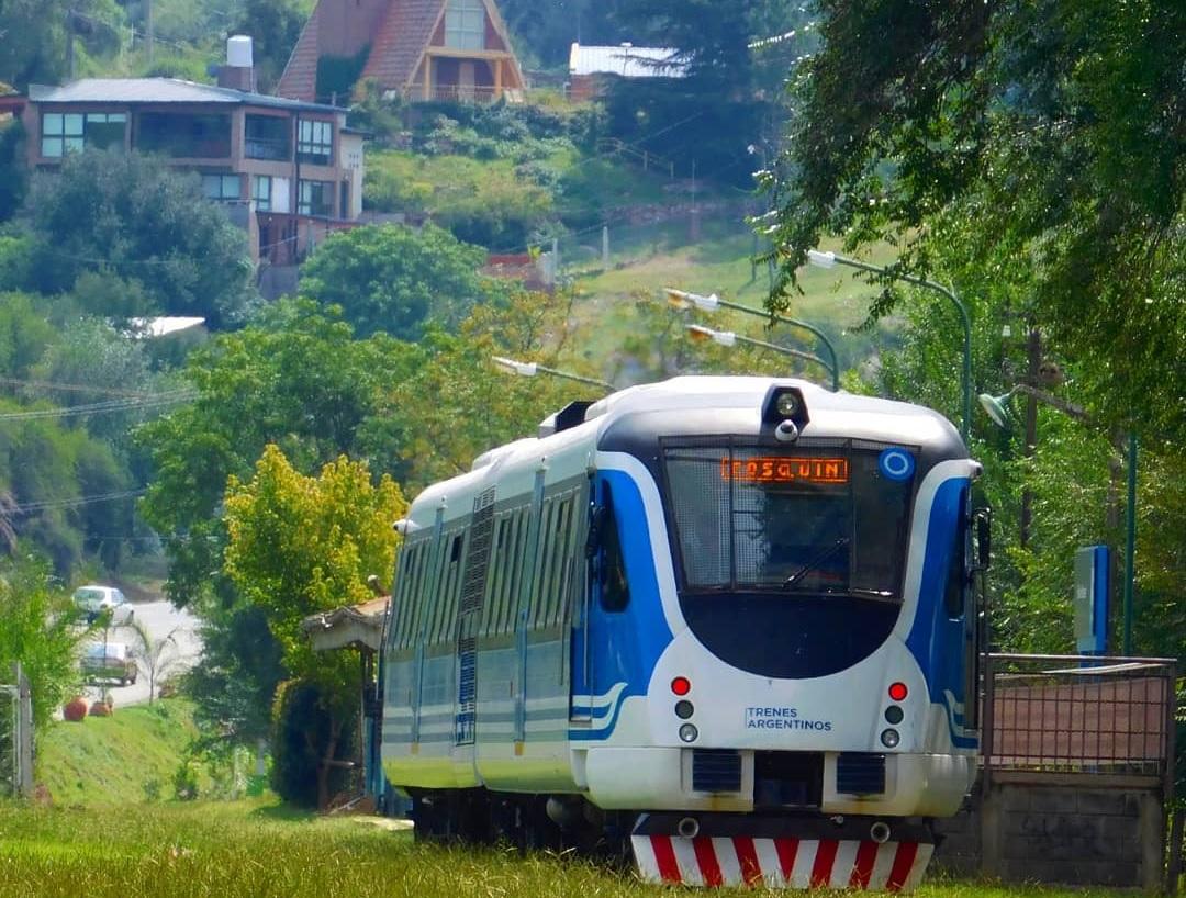 La vuelta del Tren de las Sierras a Valle Hermoso tiene fecha