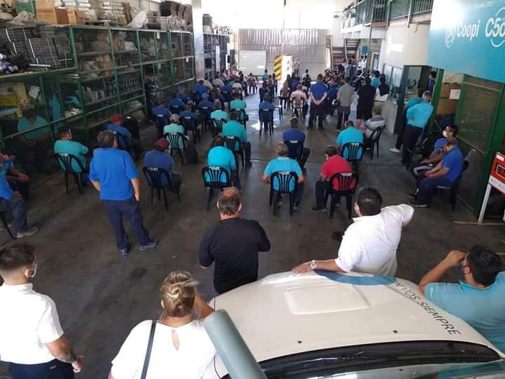 Trabajadores de la Coopi, en estado  de alerta por fallo de la Corte