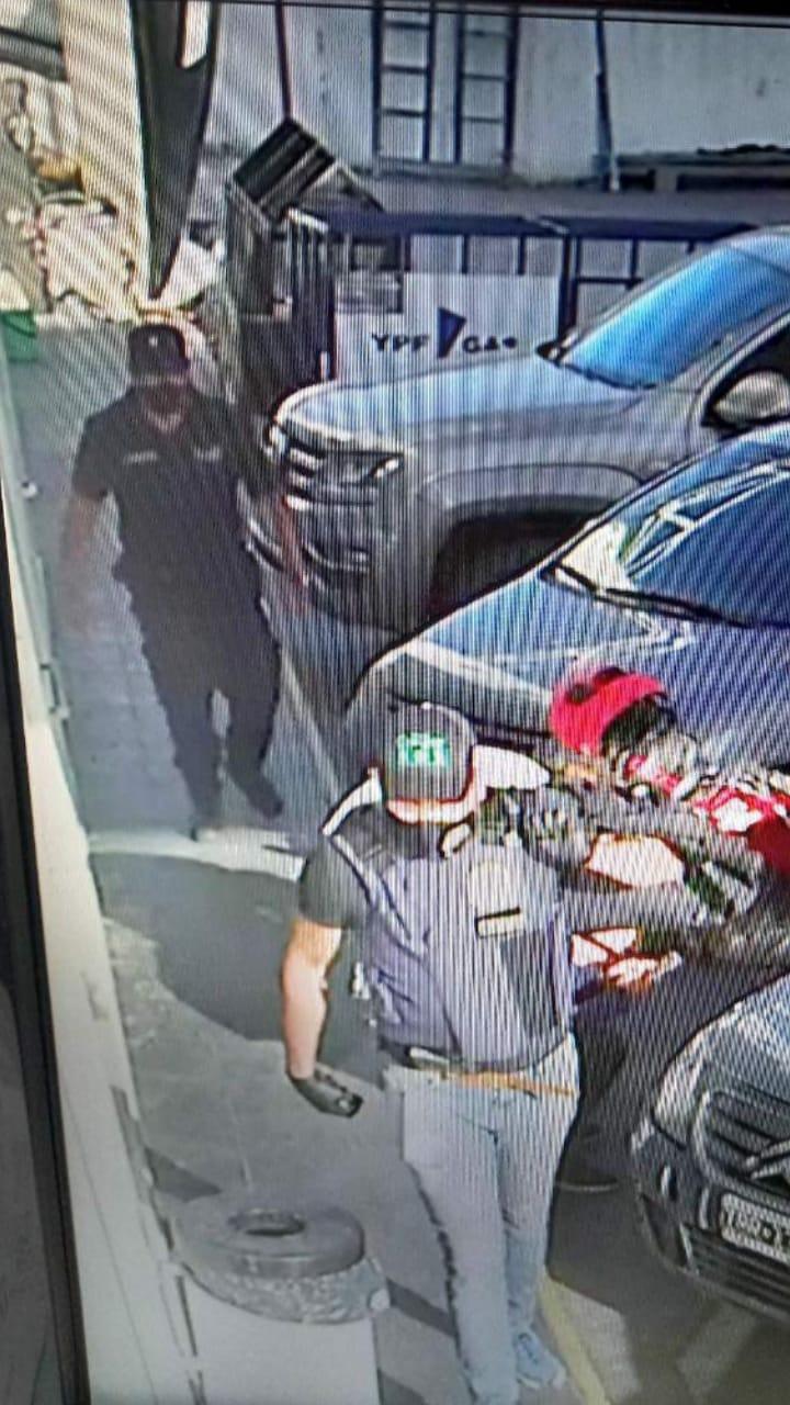 Un video registró el asalto a la estación de servicio de Bialet Massé