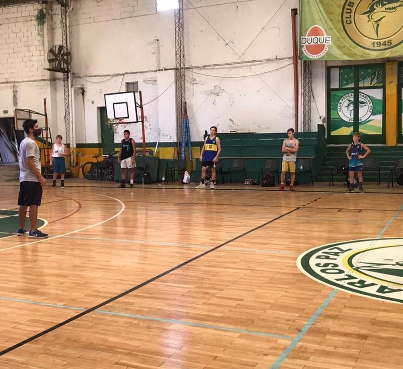 """Exitoso campus de básquet en el Club de Pesca: """"El saldo fue totalmente positivo"""""""