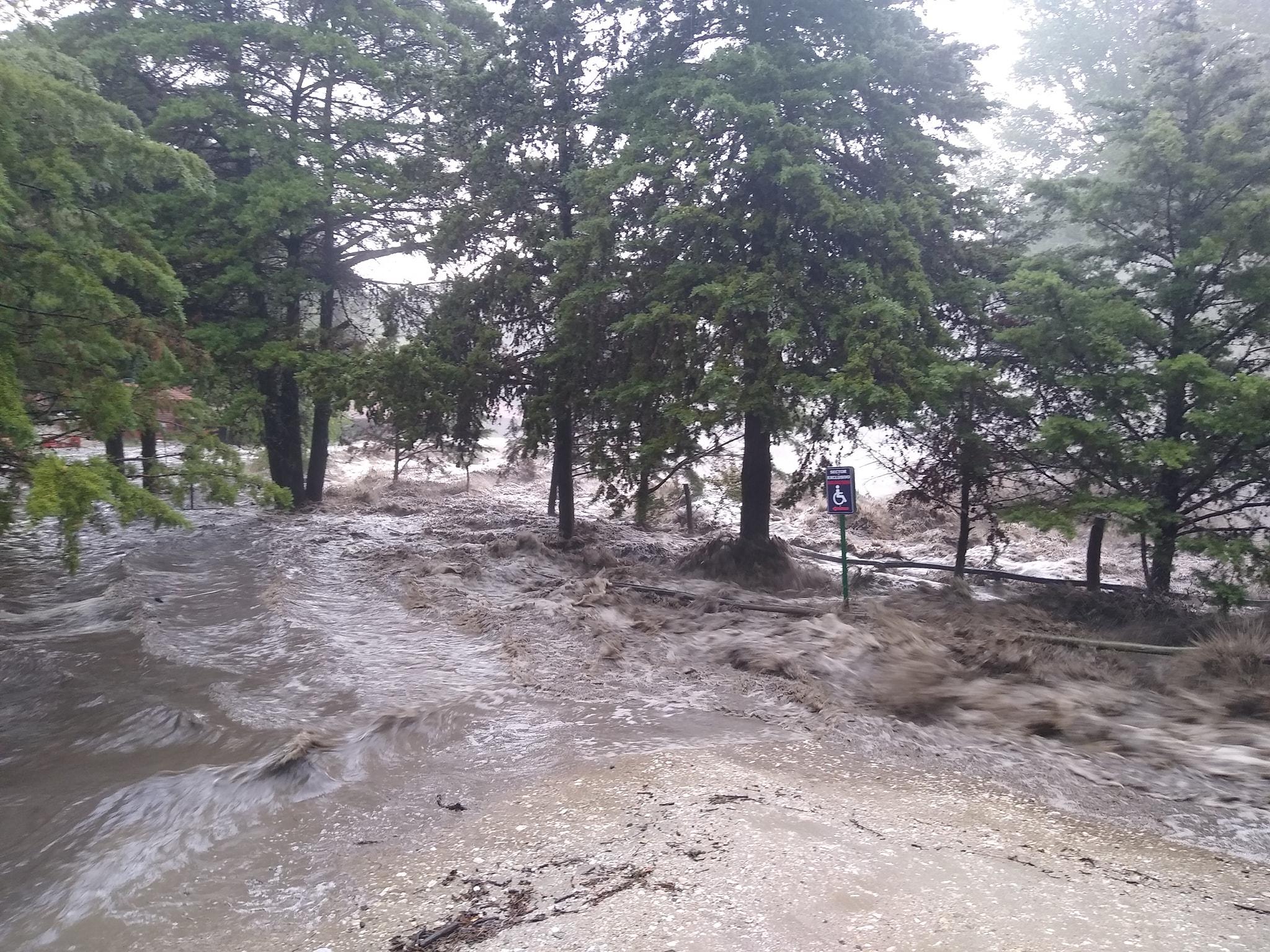 Dieminger tras los daños por la crecida: Estamos trabajando en la recuperación de La Falda