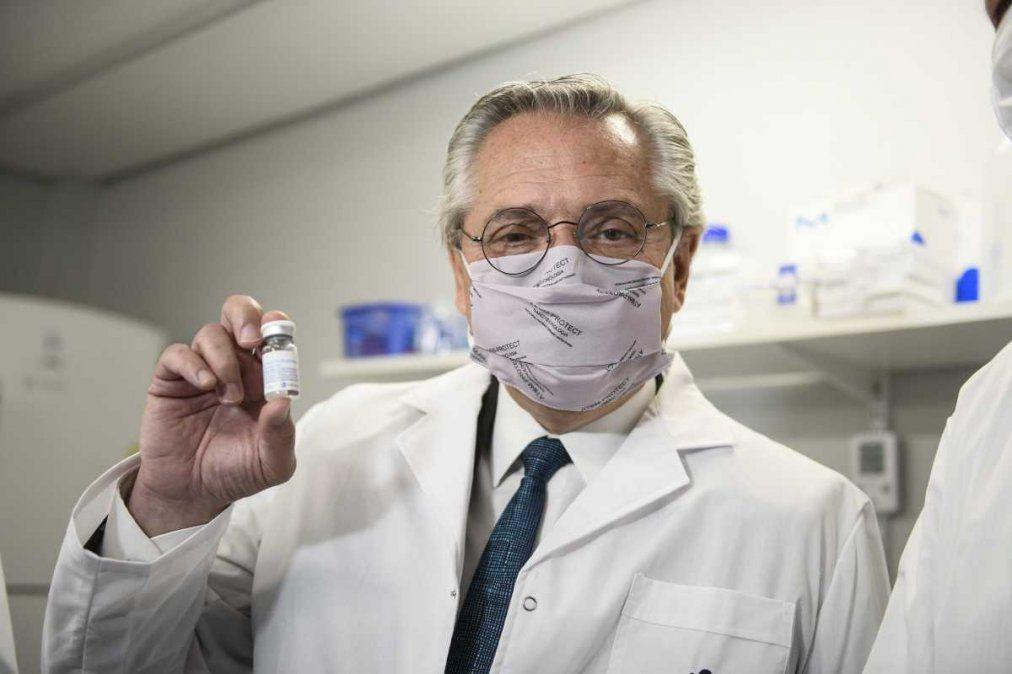 El Presidente se aplicará la vacuna rusa en los próximos días