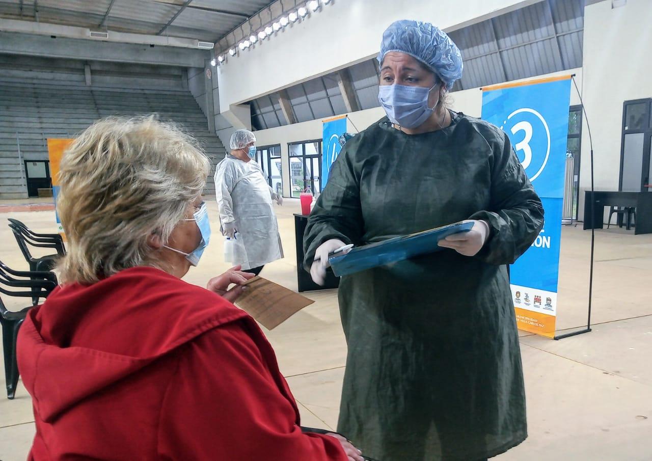 Vacunas en Carlos Paz: El miércoles se retoma la campaña con dosis de AstraZeneca