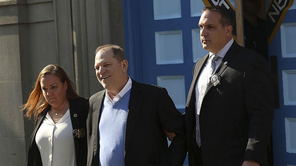 El exproductor de Hollywood Harvey Weinstein es acusado de once nuevos delitos sexuales