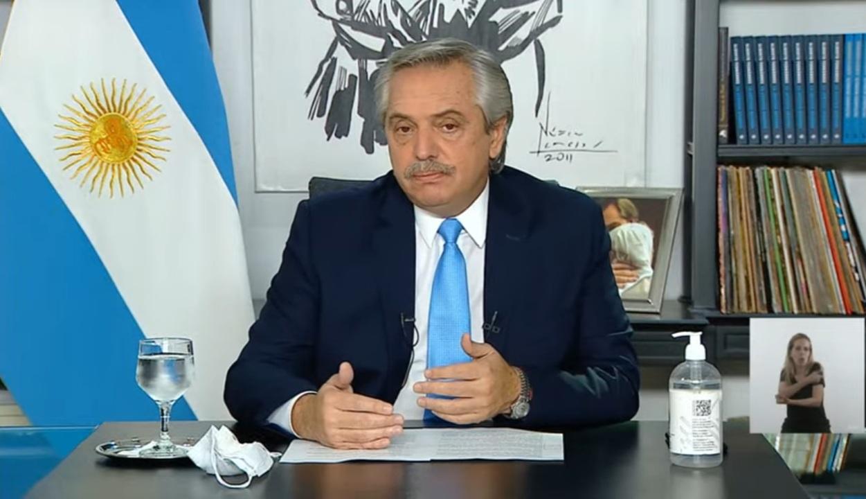 Alberto anunció restricciones sólo para el AMBA