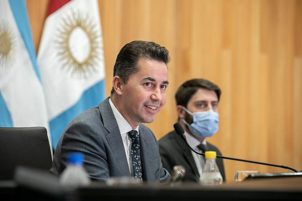 Manuel Calvo destacó la creación de un Fuero Penal en Violencia de Género