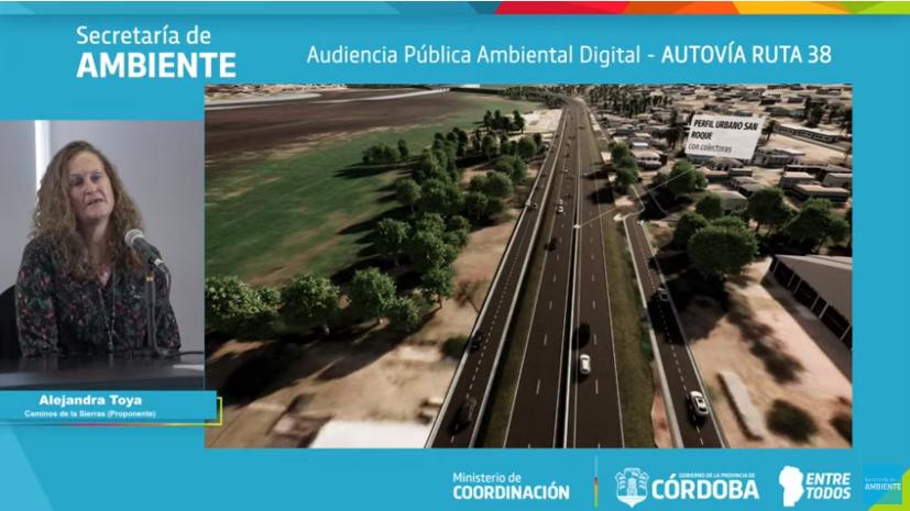 Culminó la etapa de exposiciones de la audiencia pública por la Autovía Punilla