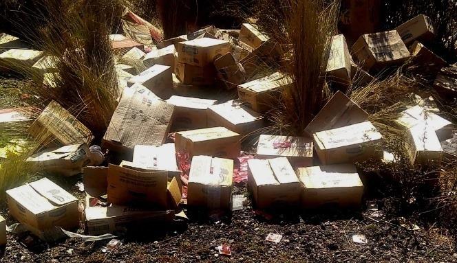 Residuos en el paraíso: Denuncian basural ilegal cerca del Parque Nacional Quebrada del Condorito