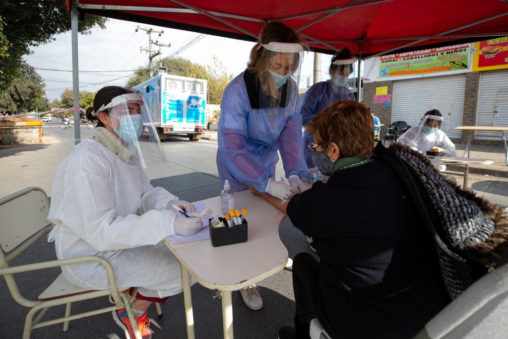 Córdoba tuvo récord de contagios en un día desde el inicio de la pandemia