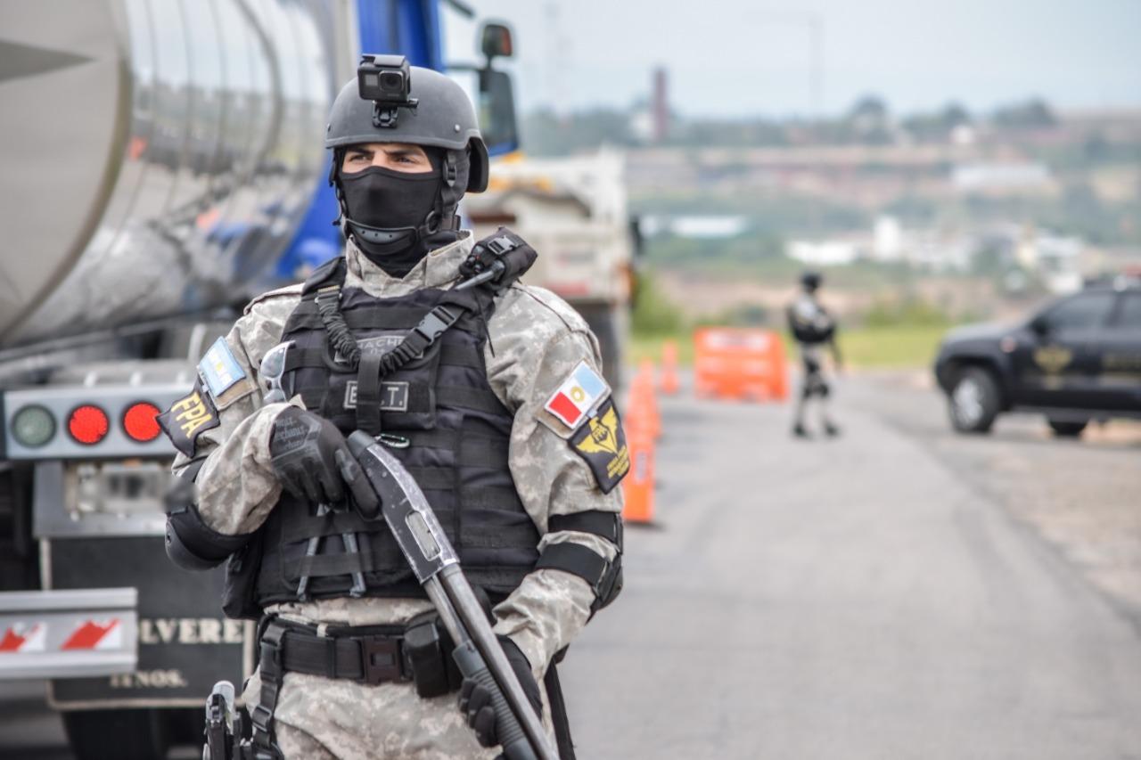 Policía retirado lideraba una banda narco