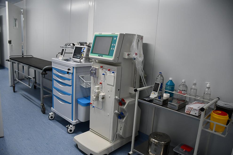 Inauguraron un Hospital Modular para los presos en Bower