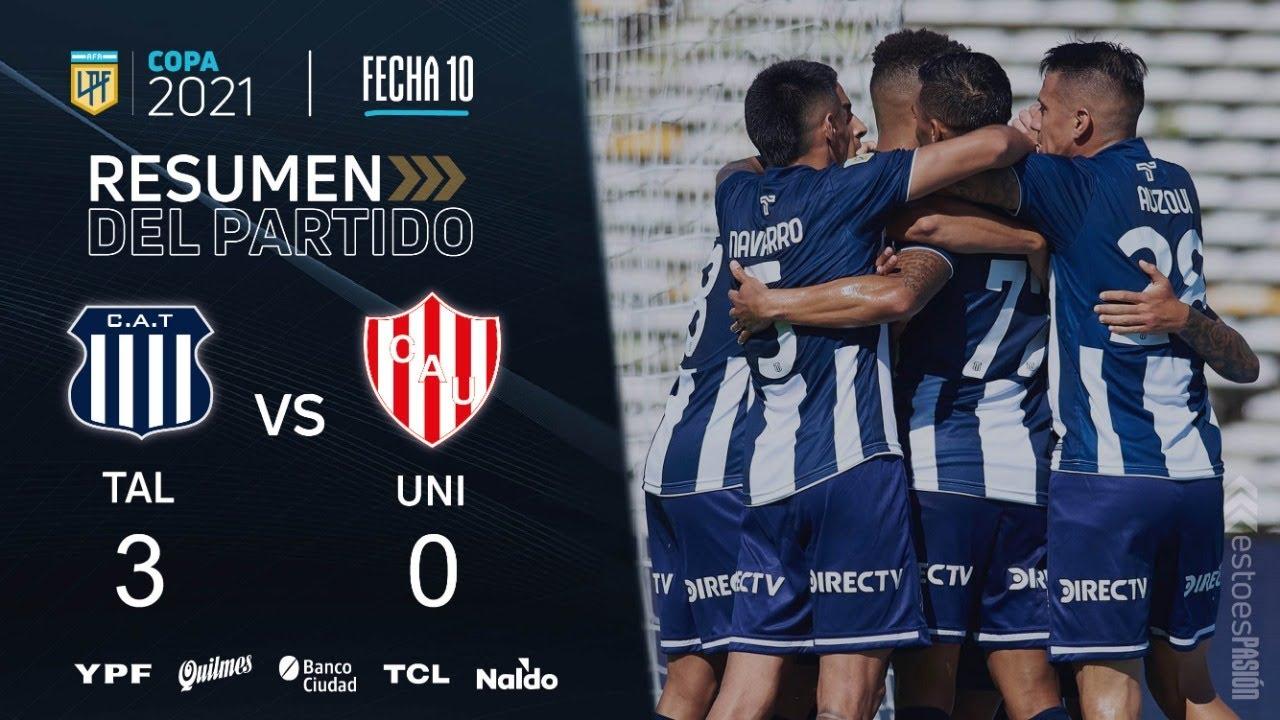 """Los goles del """"triplete"""" de Talleres ante Unión: miralos acá"""