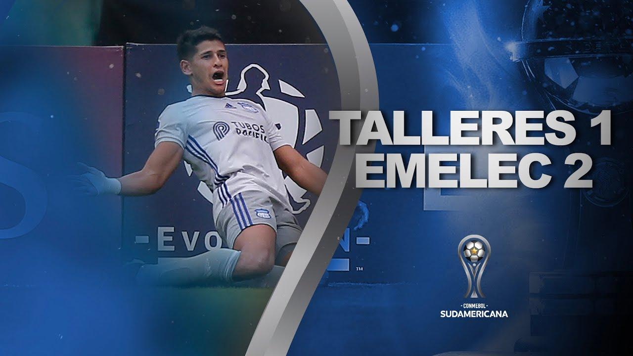 Talleres dejo venir al Emelec y lo pagó caro en su debut en la Sudamericana