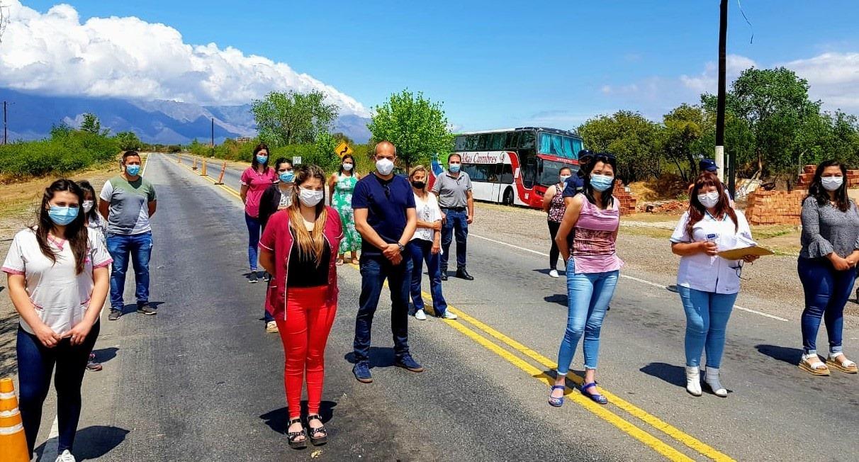 """Mina Clavero: el intendente dijo que """"los contagios y hospitalizaciones crecieron de manera preocupante"""""""