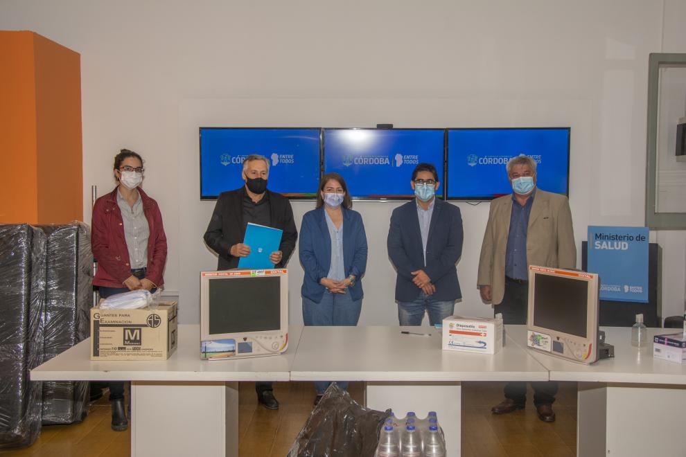 Entregaron equipamiento médico a localidades del norte provincial