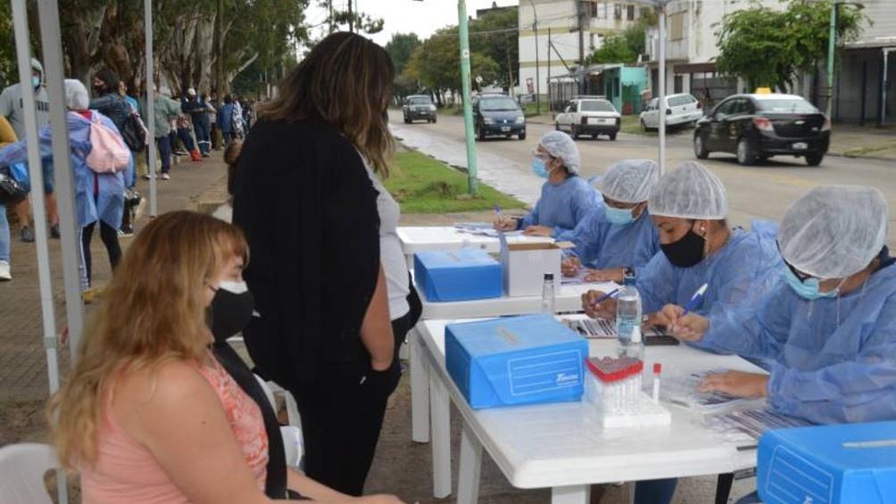 Covid-19: Se conoció un elevado número de contagios en Carlos Paz este viernes