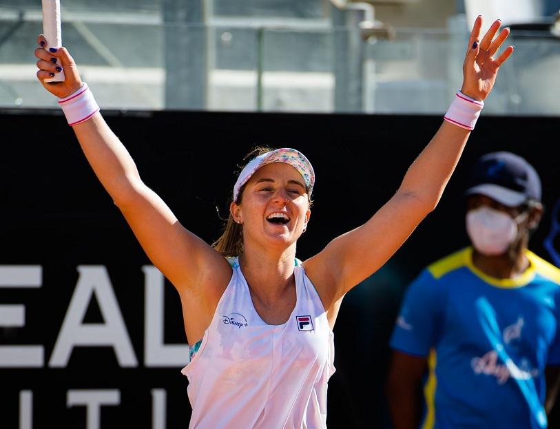 ¡Gigante como el Coliseo! Nadia Podoroska sacó a Serena Williams de  Roma