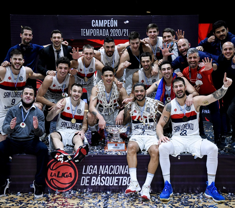 ¡San Lorenzo campeón! Quinto título en la Liga Nacional de Basquet