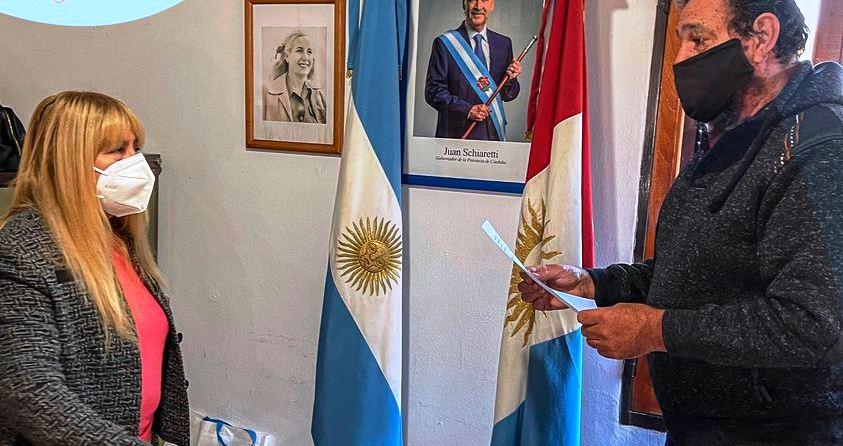 Cuesta Blanca tiene nueva presidenta comunal