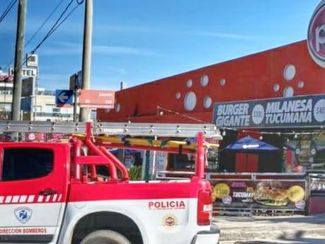 Carlos Paz: Principio de incendio en un local de Punto Manu